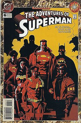 The Adventures of Superman Annual #6 DC Comics 1994 comic books Elseworlds