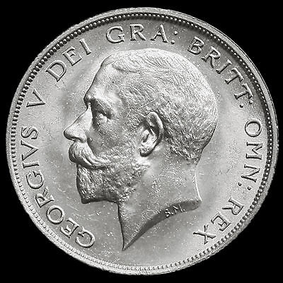 1919 George V Silver Half Crown – Scarce – BU