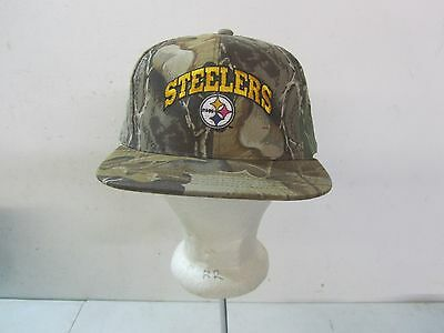 info for 4da50 879ce Pittsburg Steelers Camo NFL Adjustable Snapback Cap Hat NOS W O Tags