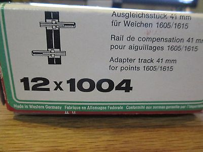 LGB 1004 Straight Track Length 41 MM Boxed 12 Count w Free ship!