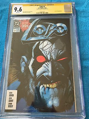 Lobo #1 (1990) - DC - CGC SS 9.6 NM+ - Signed by Keith Giffen