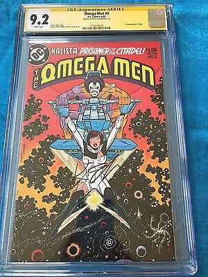 Omega Men #3 (1983) - DC - CGC SS 9.2 - Signed by Keith Giffen - 1st Lobo app