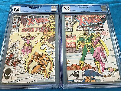 X-Men / Alpha Flight #1-2 set - Marvel - CGC 9.6 9.2