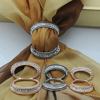 New Product Scarf Clip Straight Brooches For Women,High Quality Crystal Decorati