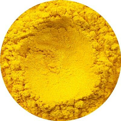 Sunflower Yellow Cosmetic Mica Powder 3g-50g Pure Soap Bath Bomb Colour Pigment
