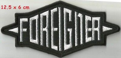 Foreigner -  patch white  - FREE SHIPPING