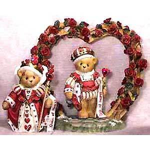 Cherished Teddies Harry & Katherine-You're The Queen/King 302732 NIB