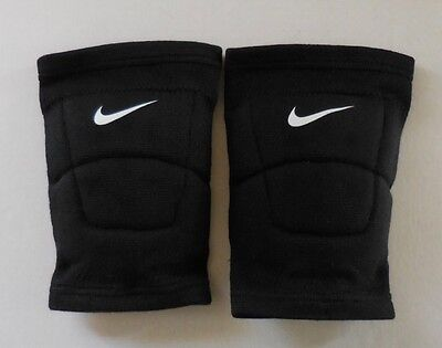 Nike Adult Unisex Volleyball Kneepad Size Small One Pair Black New