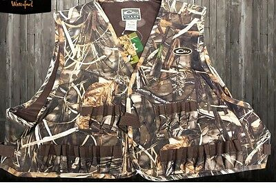 DRAKE WATERFOWL DUCK GOOSE HUNTING WADING VEST Max 4 CAMO Decoy Shells