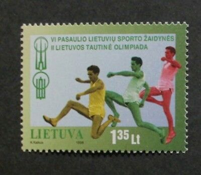 6th World Lithuanian games & 2nd National games stamp, Lithuania, SG ref: 679