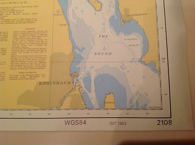 Admiralty Nautical map 2108  KATTEGAT SOUTHERN PART  BN 502
