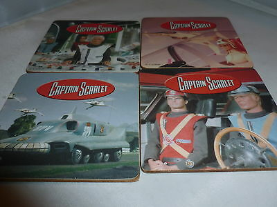 Brand New Captain Scarlet Coaster Set