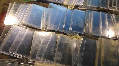 173 Plastic Sleeve Toploader Protect Clear Card Holder Case - used