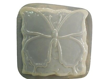 Patchwork Butterfly Stepping Stone Plaster or Concrete Mold 1322 Moldcreations