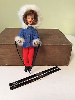 1960s Vintage Sindy Winter Holiday Ski Outfit