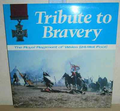 The Royal Regiment of Wales: Tribute To Bravery 1976 DR6 gatefold sleeve