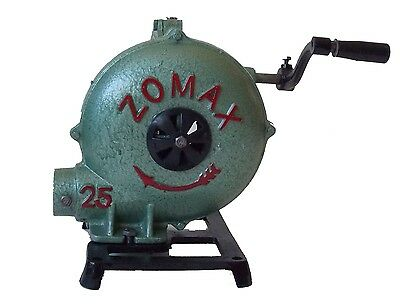 New Blacksmith Forge Blower -- Hand crank manual fan, like old champion blowers
