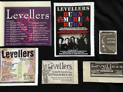 Levellers # Various Original Clippings Pack # Ref 14