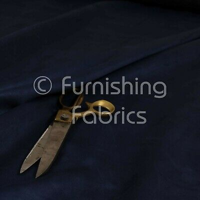 Durable Lightweight Soft Navy Blue Faux Suede Fabrics Interior Upholstery Fabric