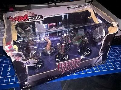 Wizkid HorrorClix Freddy vs Jason Complete