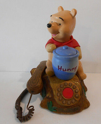 Disney Winnie the Pooh & Piglet Animated Motion & Sound Telephone no BOX