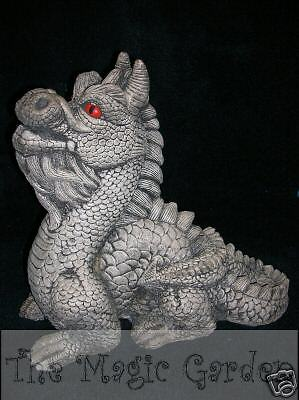 Large stone dragon garden ornament cement plaster craft latex moulds molds