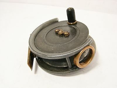 """Vintage Antique Alloy Dingley 3 ¼"""" Trout  Fly Fishing Reel - Retail Reel"""