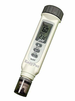 High Quality Waterproof pH+Temperature Meter Tester ATC with Large LCD Screen No
