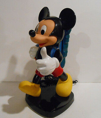 Mickey Mouse  Backpack Telephone 1980's Tyco