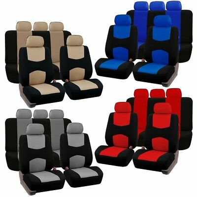 Hot 9 Unids/set Front Rear Universal Car Seat Cover Auto Vehicle Accessories da