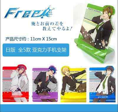 Free! - Iwatobi Swim Club Phone Stand Mobile phone support Acrylic Cos Gift