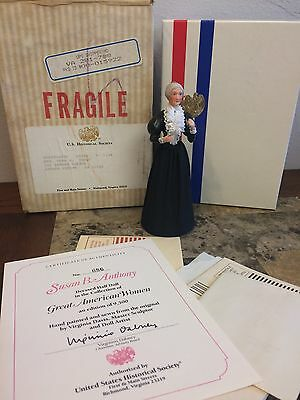 United States Historical Society Great American Women Doll Susan B. Anthony