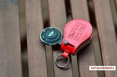 Leather key case for 2007-2013 MINI Cooper S JCW GP R55-R61 Paceman Clubman ONE
