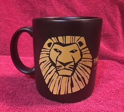 DISNEY The Lion King Coffee Mug Broadway