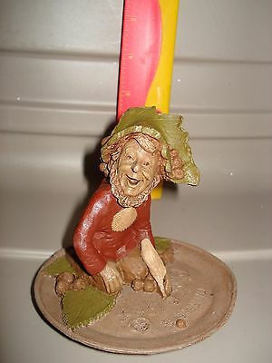 """Tom Clark Gnome anaheim """"makes people feel at home"""" frisbee thrower~"""