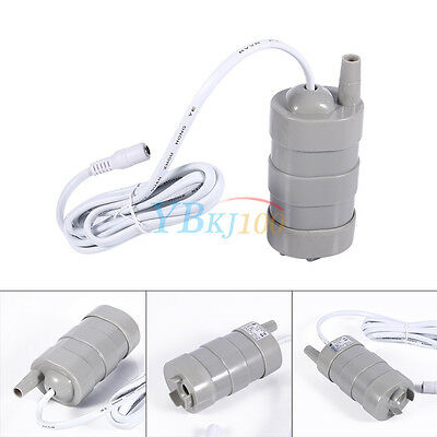Micro DC12V Vertical 1000L/H Fish Pond Shower Rockery Submersible Water Pump Hot