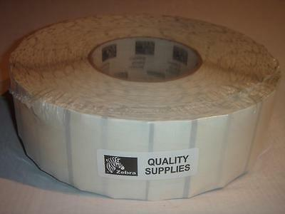 Genuine ZEBRA Z-ULTIMATE 4000T CLEAR Labels (1-31/32 x 1-3/4) NEW 3145/roll