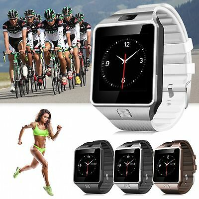 DZ09 Bluetooth Smart Watch Phone Mate Sports GSM/SIM For iPhone Samsung Android