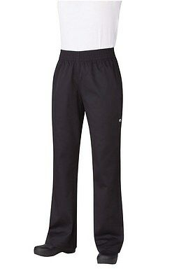 Chef Works Womens Baggy Chefs Pants Black