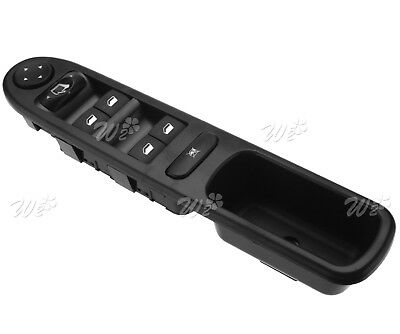 Driver Side Master Control Window Switch Fit for Peugeot 307 CC•3B . 2003-2014