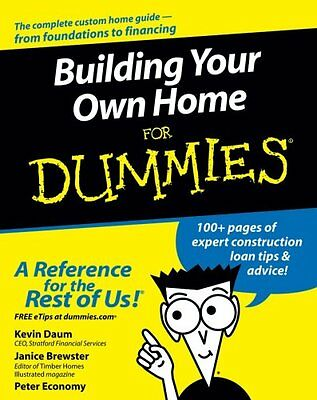 Building Your Own Home For Dummies by Kevin Daum 9780764557095 (Paperback, 2005)