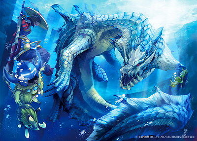 """008 Monster Hunter - Moster Fight Game 19""""x14"""" Poster"""