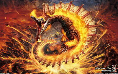 """018 Monster Hunter - Moster Fight Game 22""""x14"""" Poster"""