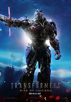 """008 Transformers 5 - The Last Knight 2017 Action Movie 14""""x20"""" Poster"""