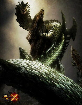 """024 Monster Hunter - Moster Fight Game 14""""x17"""" Poster"""