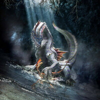 """010 Monster Hunter - Moster Fight Game 14""""x14"""" Poster"""