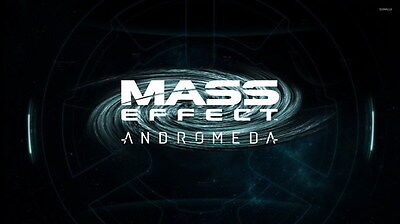 """050 Mass Effect 4 - Andromeda ME Fighting Shooting Game 24""""x14"""" Poster"""