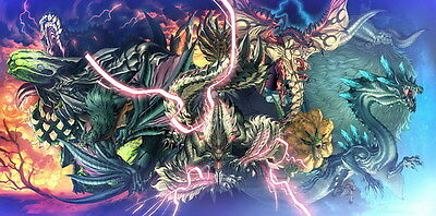 """021 Monster Hunter - Moster Fight Game 28""""x14"""" Poster"""