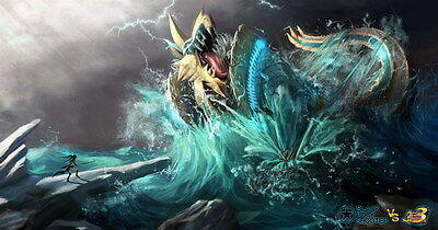 """023 Monster Hunter - Moster Fight Game 26""""x14"""" Poster"""