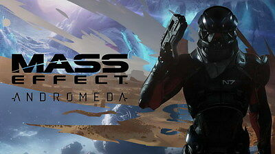 """057 Mass Effect 4 - Andromeda ME Fighting Shooting Game 42""""x24"""" Poster"""